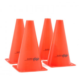 Image of   4 orange kegler - 22 cm