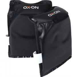 Ox-on Kneepads Comfort M/læderbagside Sort One Size