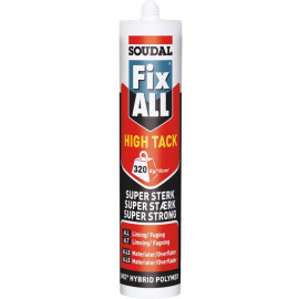 Fix All High Tack Montagelim Soudal Grå 290ml