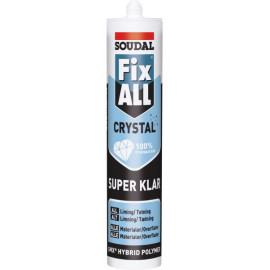 Fix All Crystal Multifuge/lim Soudal Klar 290 Ml