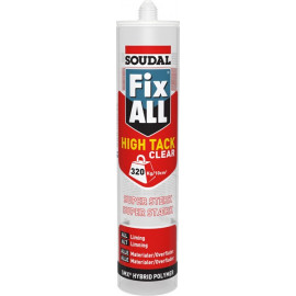 Fix All Ht Clear Montagelim Soudal Klar 290ml