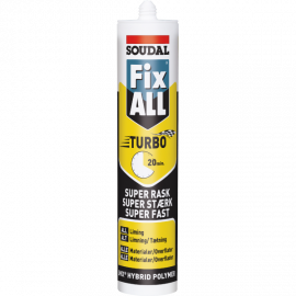 Fix All Turbo Montagelim 290ml Soudal Sort