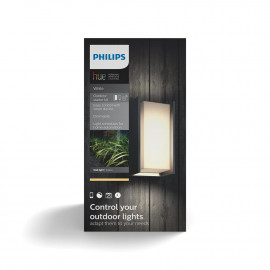 Philips Hue Turaco væglampe anthracite 1x9.5W